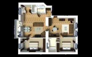 Senator City Center Bedroom Apartment