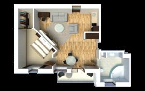 Senator City Center Egoist Apartment