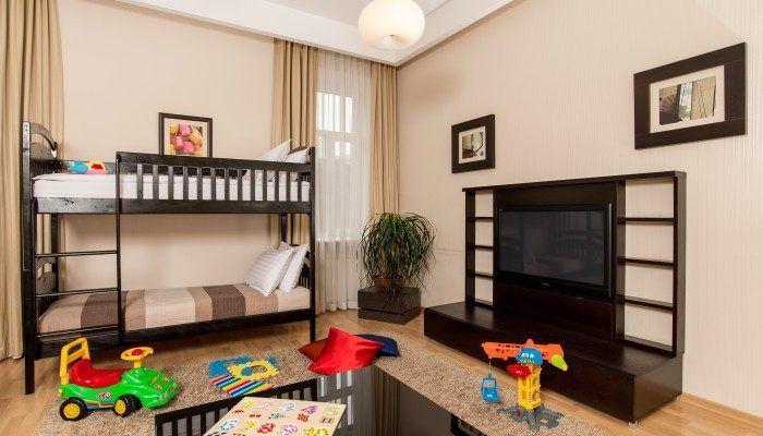 children's room in the apartment