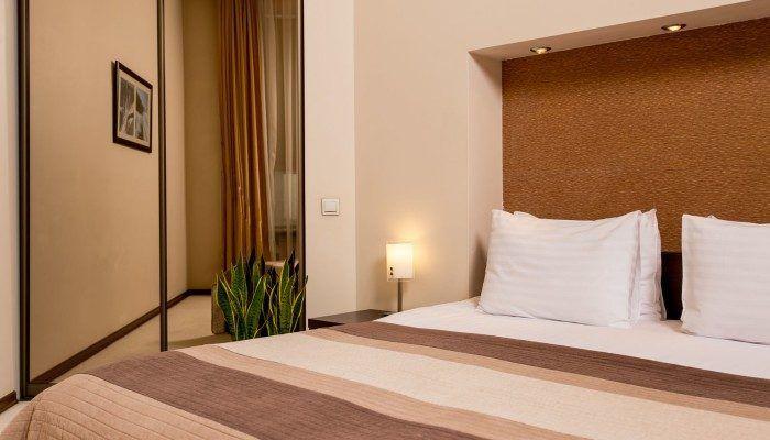 furniture in the hotel room Senator Apartments