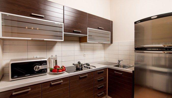 kitchen in the apartment Senator 4